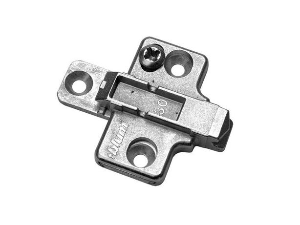 12 New Blum Clip 2 Piece Mounting Plate Model: #175H7100 - $10 all