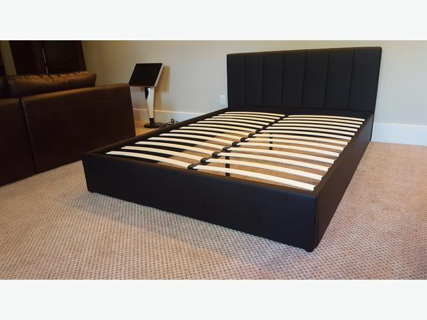 Gorgeous Queen Sized PU Bed Frame
