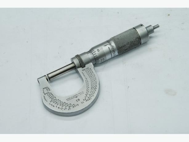 """B&S 0-1"""" micrometer"""