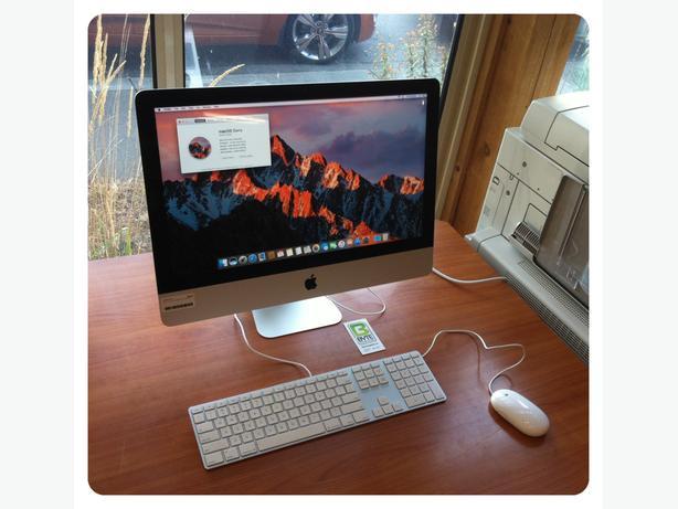 "Late 2013 21"" iMac"