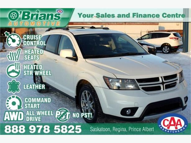 2014 Dodge Journey R/T Rallye - No PST! w/AWD, Leather, Cmd Start