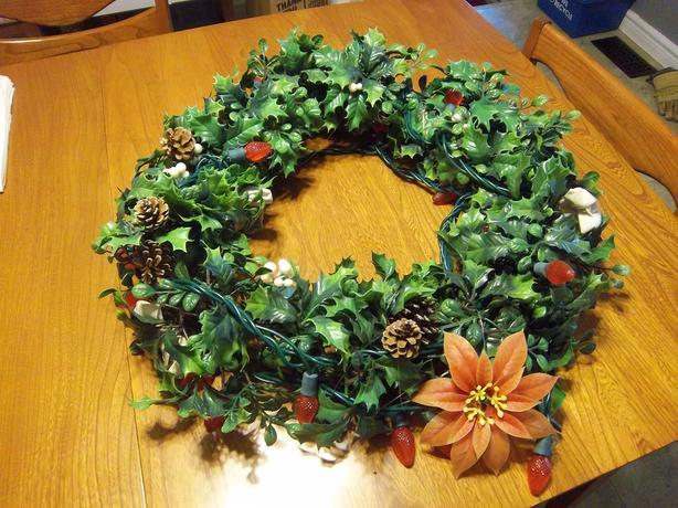 Outdoor Christmas Wreath REDUCED