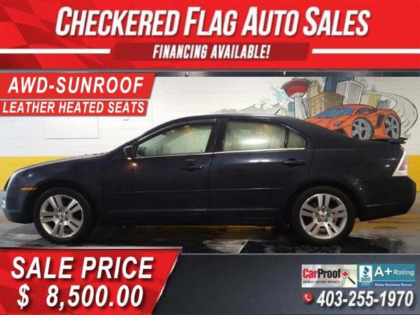 2008 Ford Fusion SEL AWD-SUNROOF-LEATHER