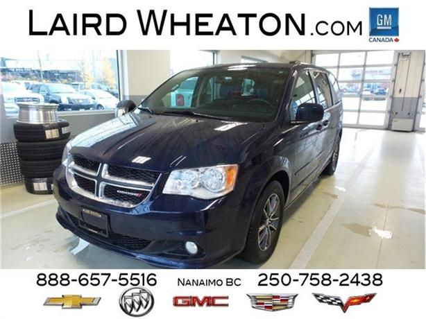 2016 Dodge Grand Caravan SXT Premium Plus Clean, Stow N' Go