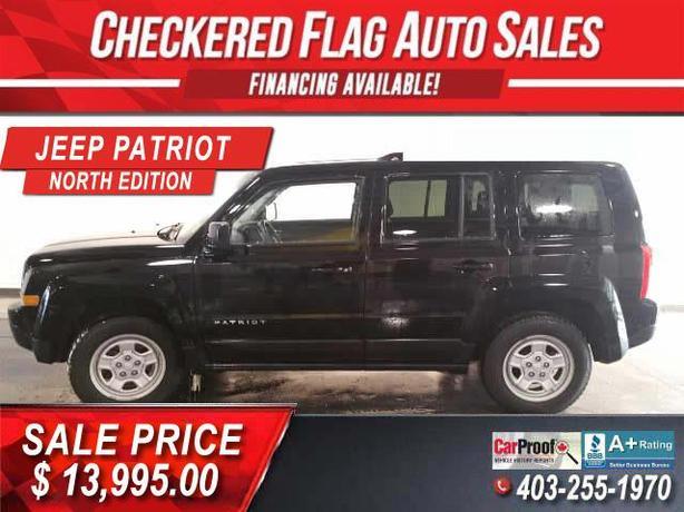 2012 Jeep Patriot NORTH EDITION-4X4-89026 km