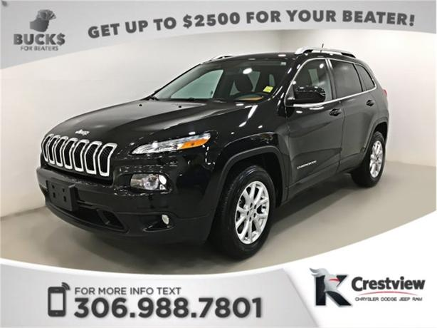 2015 Jeep Cherokee North 4x4 V6 | Heated Seats and Steering Wheel | Remote Start