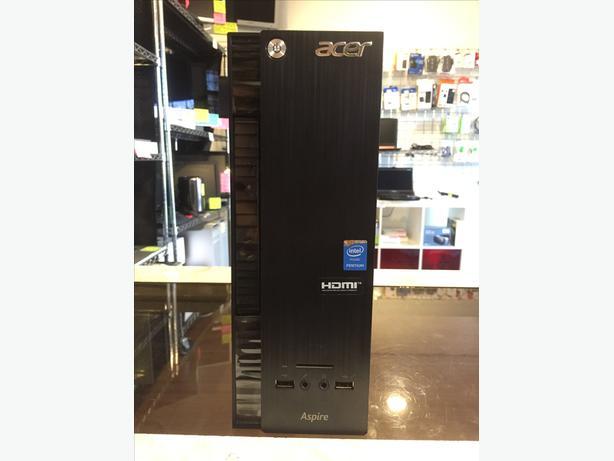 Acer Aspire PC Computer Tower Quad 4 GB RAM 1 TB HD w/ Warranty!