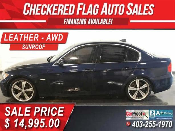 2007 BMW 335xi AWD-3.0L TWIN TURBO-SUNROOF-HEATED LEATHER-AUTO