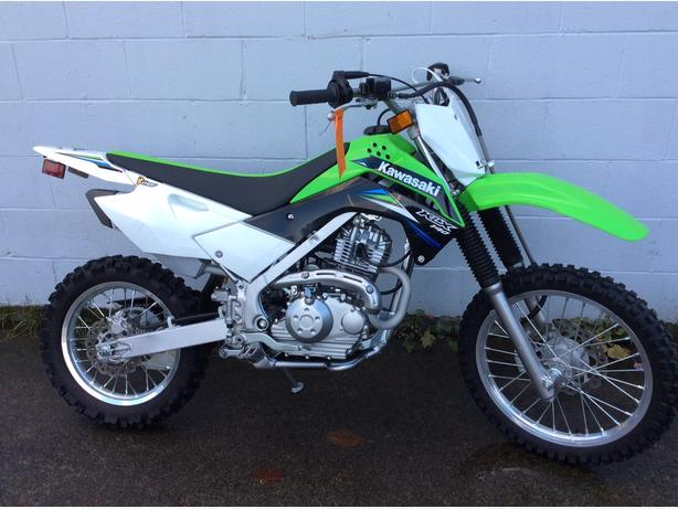 2014 Kawasaki KLX140 electric start, near new