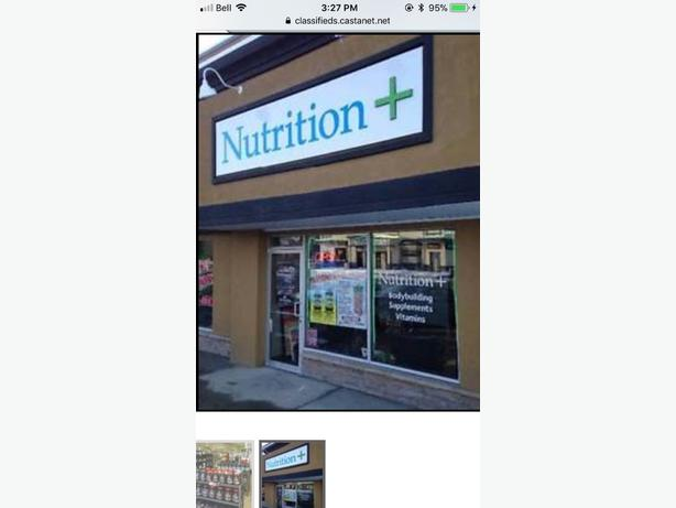 **QUICK SALE** Health/Supplement store for sale