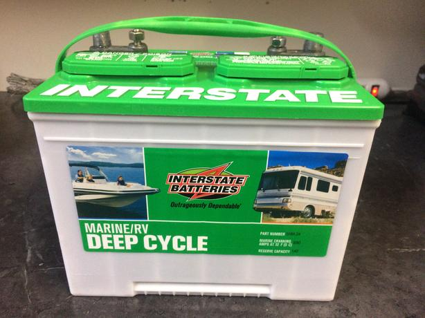  Log In needed $50 · Interstate Marine/RV Deep Cycle 12-Volt Batter