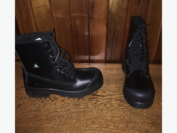 """Sidewinder Dominator CSA 8"""" Leather Safety Boots Mens Size 11"""