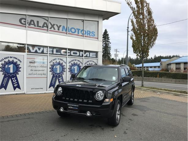 2017 Jeep Patriot HIGH ALTITUDE EDITION - BLUETOOTH, 4X4, ALLOYS