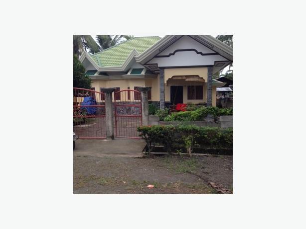 City House in Banaybanay , near Lupon near Beach