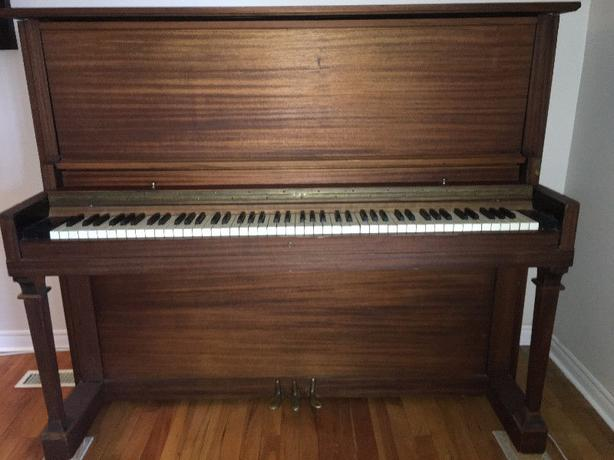 Upright Piano (Story and Clark - Chicago)