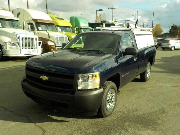 2008 Chevrolet Silverado 1500 Work Truck Regular Cab Long Box 2WD w/ Canopy & La