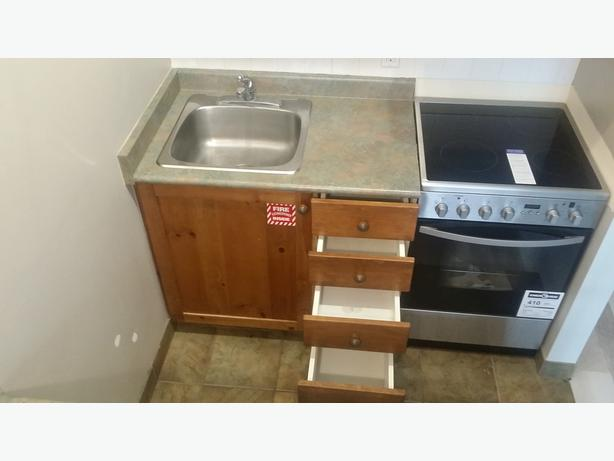 Kitchenette Cabinets including Counter, Sink & Faucet