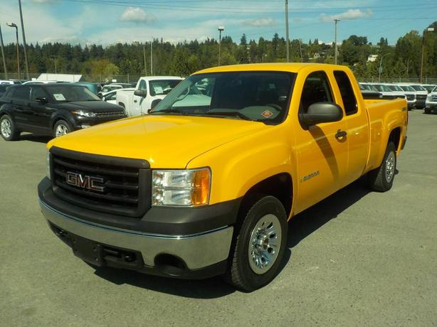 2007 GMC Sierra 1500 SLE1 Ext. Cab Short Box 4WD Dual Propane and Gas