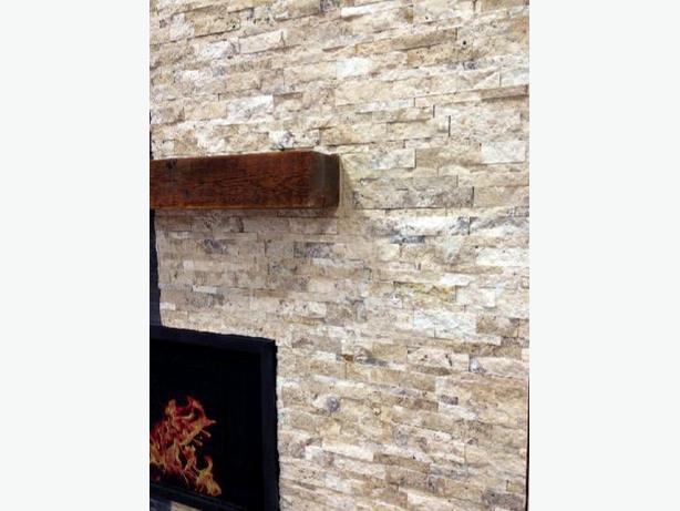 7 x 21 travertine ledge stone