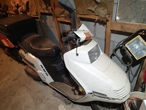 2 Honda elite scooters