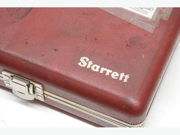Starrett 645 indicator set