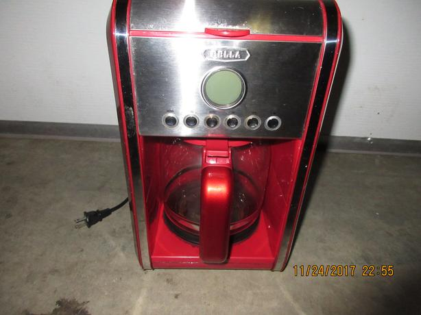 Located in Campbell River  Red Coffee Maker $5