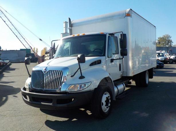 2011 International 4300 16 Foot Diesel Cube Van Automatic