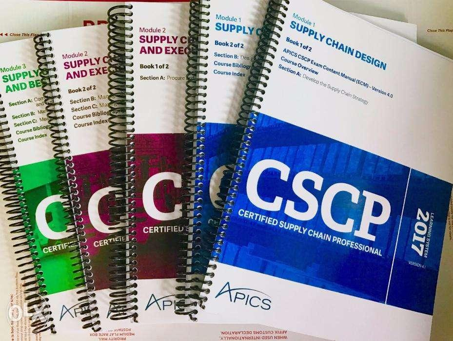 Apics Cscp Books Amp Learning System For Sale At Great Price