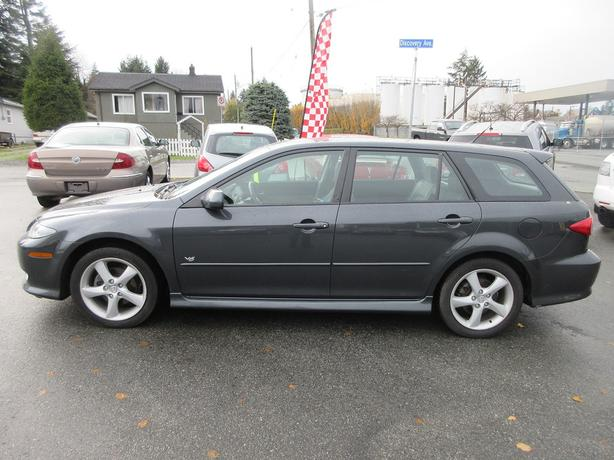 REDUCED! 2004 MAZDA 6 WAGON 3.0L V6-NO ACCIDENTS! SUNROOF!