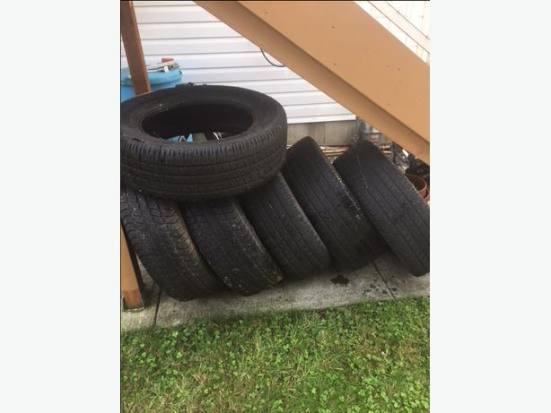 P275/60R20 Goodyear tires