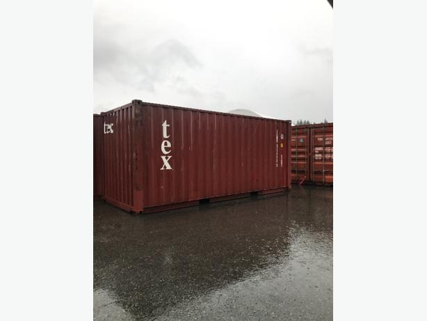 20' used Shipping Containers