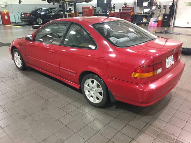 1999 Honda Civic Sir Em1 Milano Red 99 Original Vancouver Bc