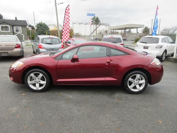 ON SALE! 2007 MITSUBISHI ECLIPSE 2.4L I4-LOW KMS! SUNROOF!