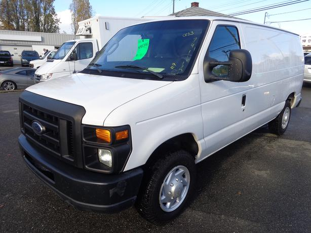 2011 ford e150 cargo van - 175 kms.  ex fleet