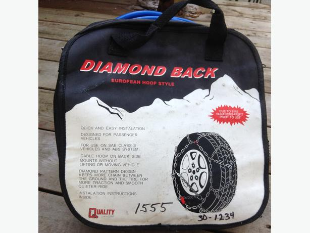 Diamond Back snow chains