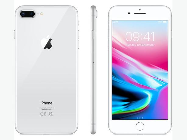 Iphone 8 64 gig FACTORY UNLOCKED silver