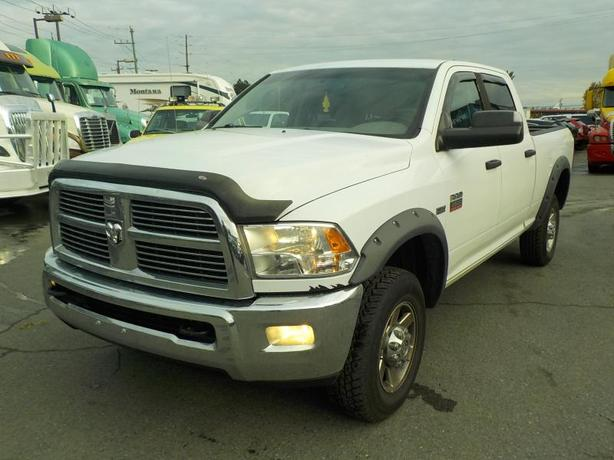 2011 Dodge Ram 2500HD Hemi Crew Cab Short Box 4WD