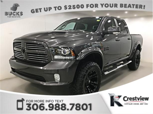 2014 Ram 1500 Sport Crew Cab | Leather | Sunroof | Navigation