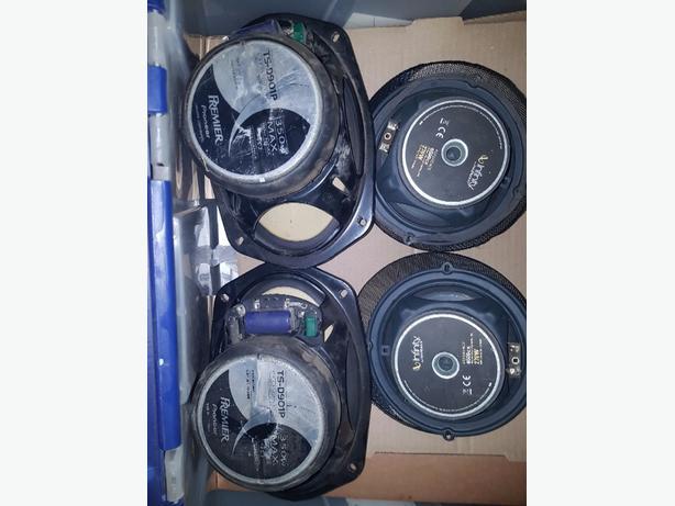 """Pair of 6-1/2"""" infinty car speakers"""