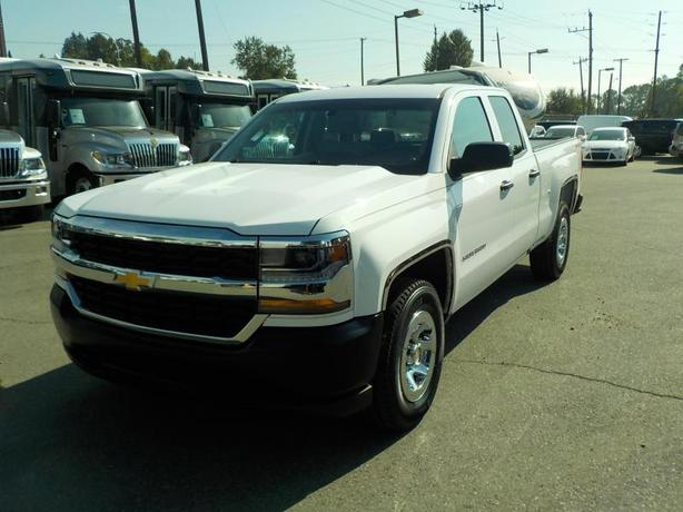 2016 Chevrolet Silverado 1500 Work Truck Double Cab Regular Box 4WD