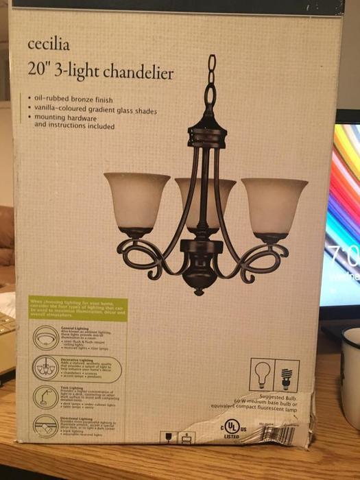 Kitchener  Light Chandelier
