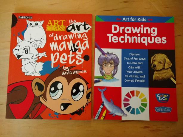 How to draw books 2 for $5