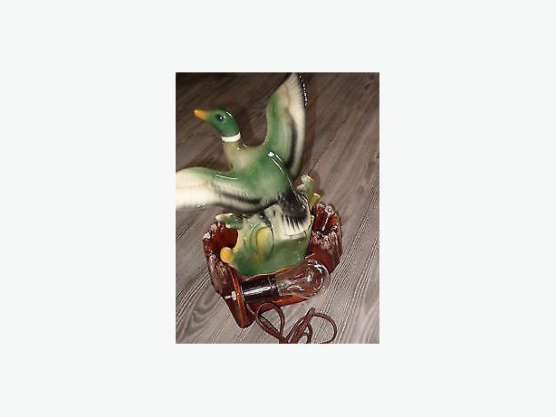 lamp duck maddux mallard ,1950,light.