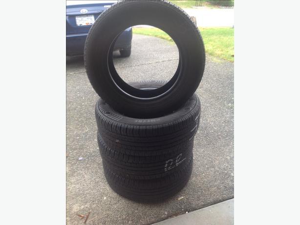 4 Nokian Entire M/S tires