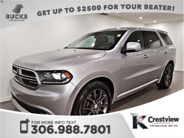 2017 Dodge Durango R/T AWD | Sunroof | Navigation | Remote Start