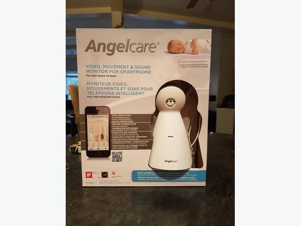 Angelcare video movement and sound monitor.wireless