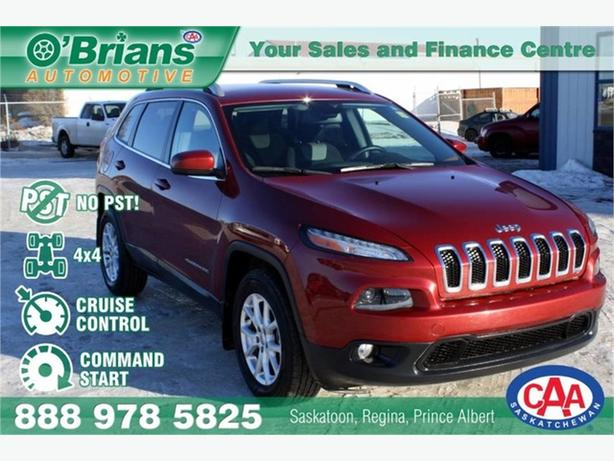 2014 Jeep Cherokee North - No PST! w/4x4, Cmd Start