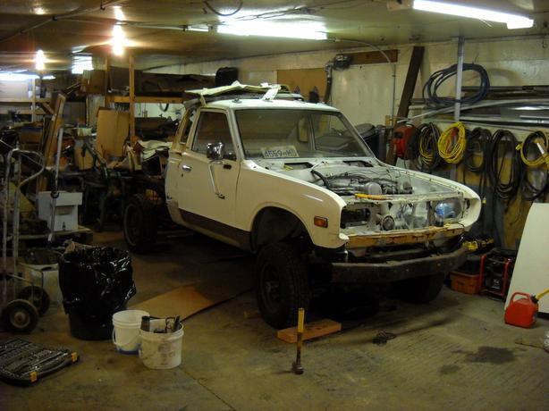 1976 Datsun 620 4x4 Project Duncan Cowichan