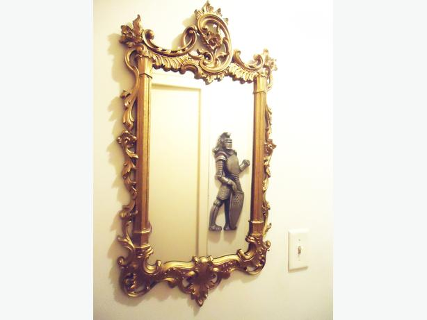Large Beautiful Victorian Wall Mirror - Vintage Ornate Frame - SOLD