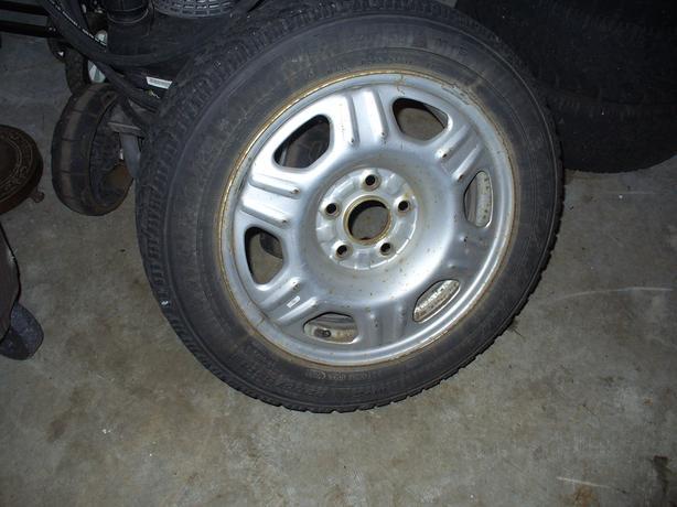 205/55/16 x 4 Mud & Snow tires & steel rims